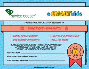 Energy-SMART certificate