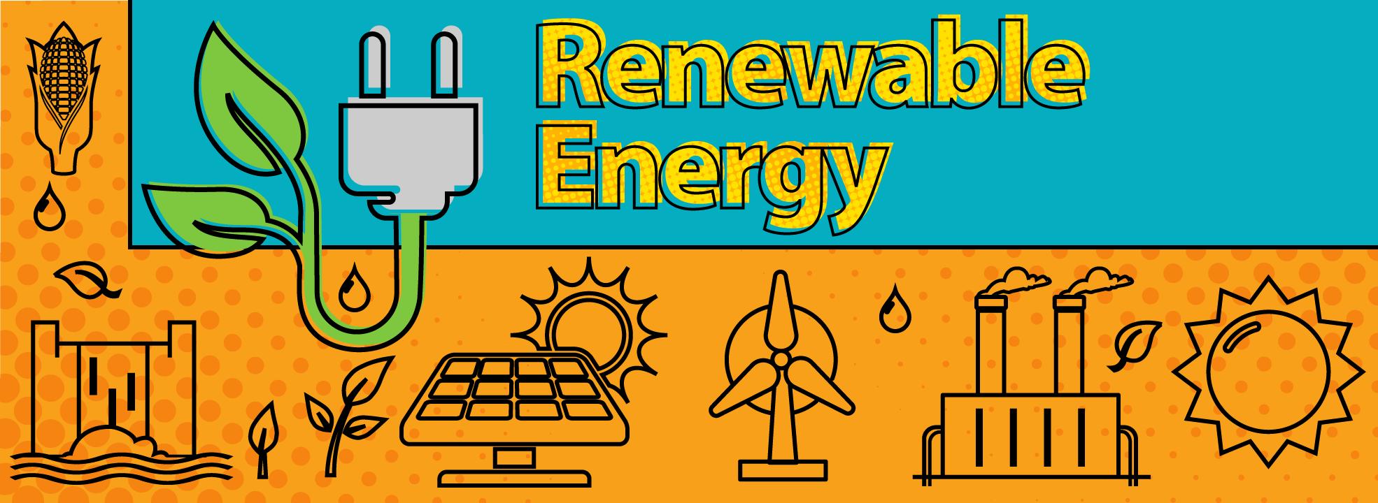 Renewable energy solar wind biomass geothermal hydropower